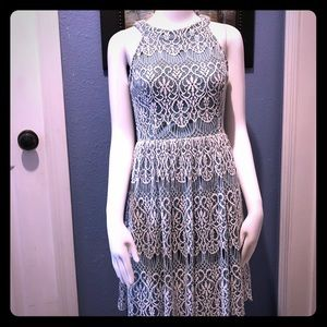 Altard State mint green lace dress